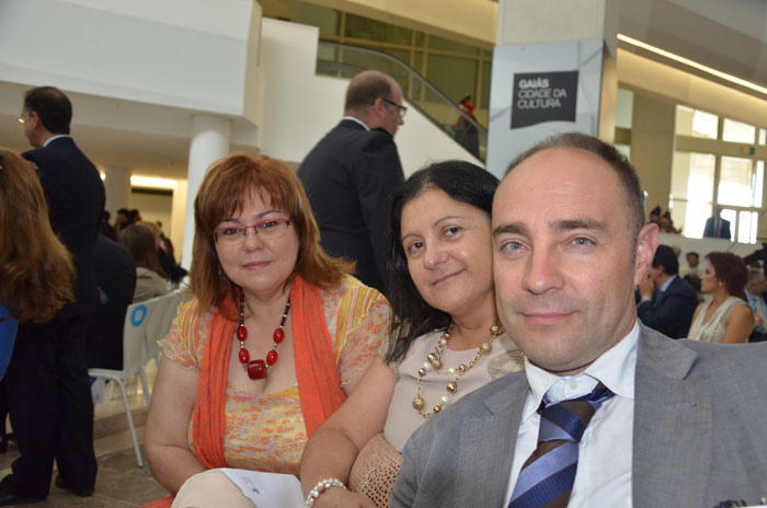 Membros do GIPCE que asistiron ao acto