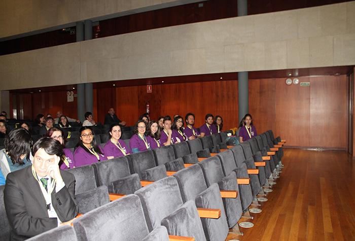 Alumnos e alumnas voluntarios no III Congreso de Psicoloxía Profesional de Galicia. Grazas pola vosa colaboración