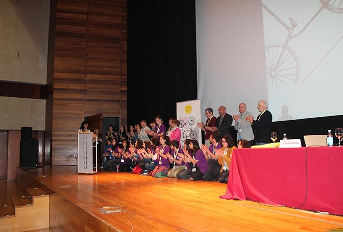 Acto de clausura do III Congreso de Psicoloxía Profesional de Galicia