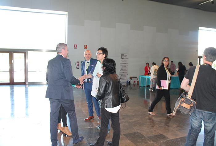 Chegada de Alfonso Rueda, Vicepresidente da Xunta de Galicia,  ao Palacio de Congresos e Exposicións de Galicia