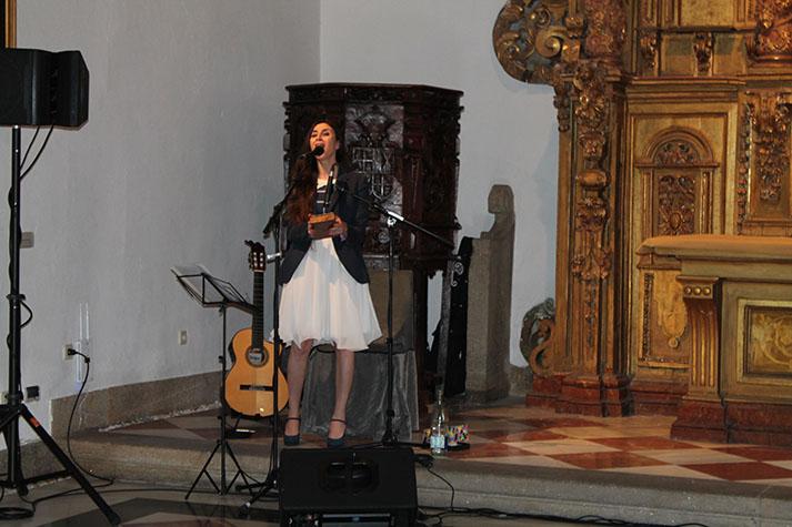 Actuación musical de Najla Shami