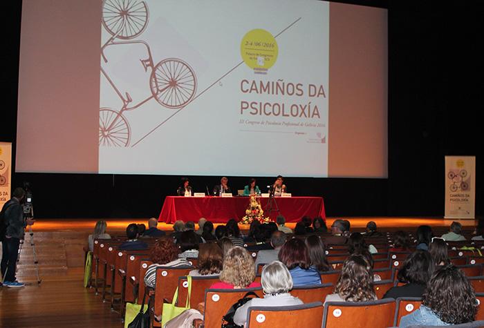 Acto inaugural do III Congreso de Psicoloxía Profesional de Galicia