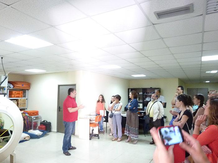 Momento da intervención de Vicente Fernando Varela