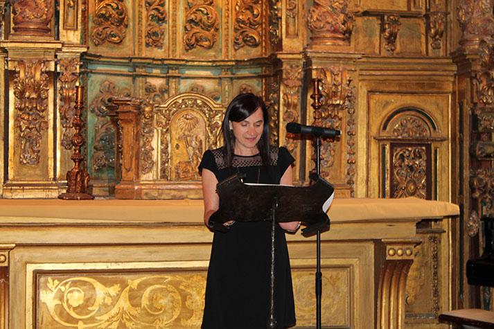 A decana do COPG, Mª Rosa Álvarez Prada