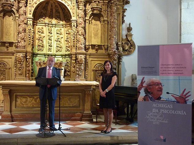 O vicedecano, Hipólito Puente Carracedo e a Decana, Mª Rosa Álvarez Prada