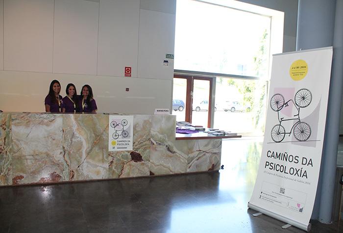Apoio administrativo no III Congreso de Psicoloxía Profesional de Galicia