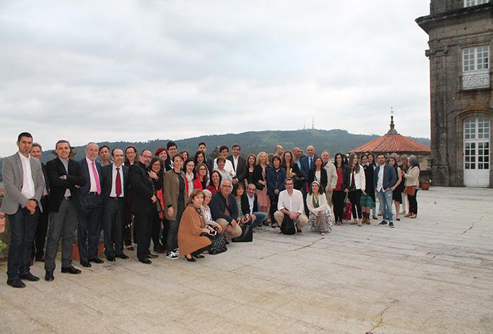 Programa Social do Congreso: Recepción do Concello no Pazo de Raxoi