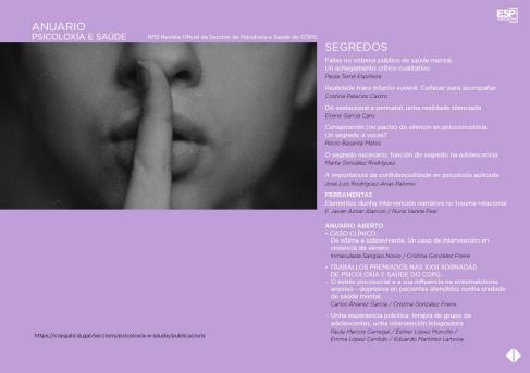 """Anuario Nº 12 """"Segredos"""""""