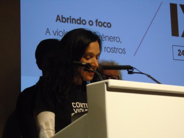Acto de clausura con Mª Rosa Álvarez Prada