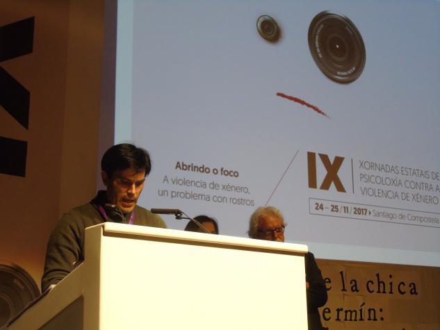 Acto de clausura con Rubén Villar Trenco, presidente do Comité Organizador