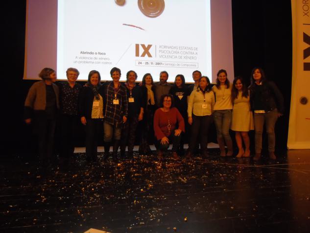 Representantes do Grupo de Traballo de Psicoloxía e Igualdade de Xénero