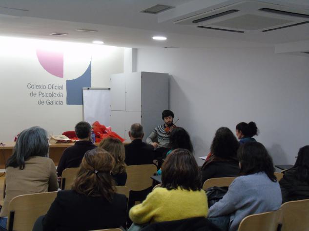 Momento da entrega de premios X Concurso Literario Rosa de Cen Follas