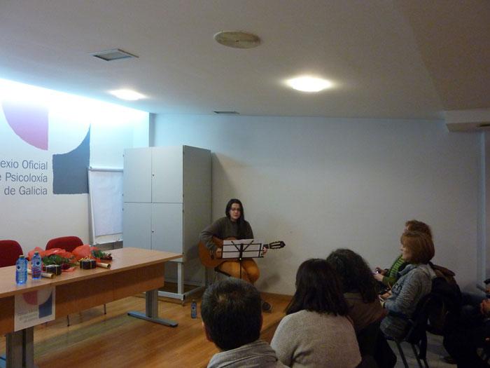 Actuación musical de Alba Rodríguez