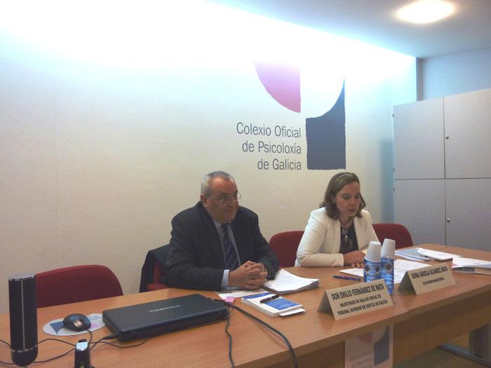 Emilio Fernández Mata e María Dolores Seijo Martínez