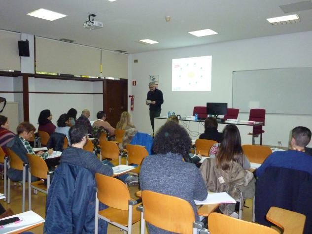 Asistentes ao seminario